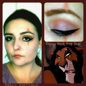 Day three in my Disney Week, Scar from The Lion King.