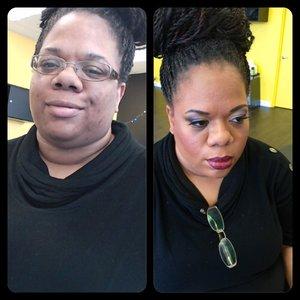 Transformations at my makeup studio