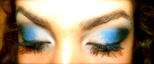 Got bored, thought in stead of blending the colors in I would be different :)
