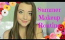 Everyday Summer Makeup Routine | Collab with Justine D.