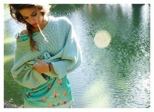 For the clothing line Fera Uma Vez ad campaign.