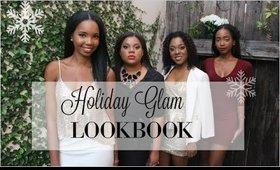 HOLIDAY GLAM LOOKBOOK