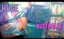 HUGE GLITTER HEAVEN AUSTRALIA HAUL & SWATCHES