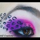 Purple and Pink Cheetah Print
