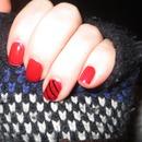 Red Black Stripes