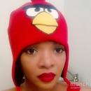 Angry Bird n red lips