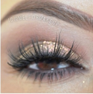 @melformakeup rocking Badkitty mink lashes from Minxlash.com
