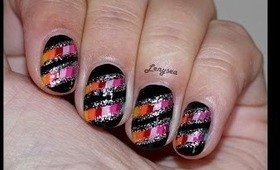 Colorful Nail Design for Fall