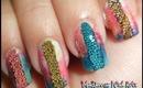 Summer Caviar Party Nail Art / Diseño colorido