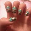 #Tribal nails<3