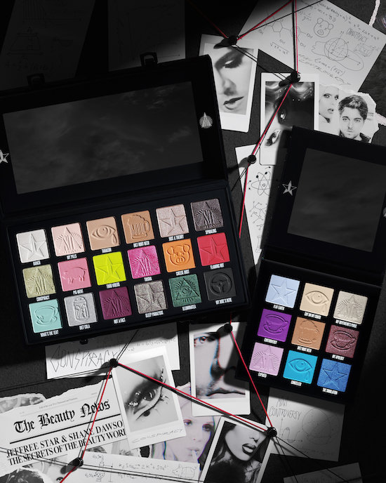 Alternate product image for Conspiracy & Mini Controversy Palette Bundle shown with the description.
