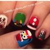 Christmas Nail Art 2012