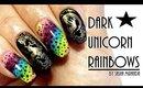 ☆ Dark Unicorn Rainbows ☆