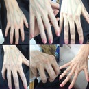 pictorial on aging a hand