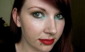 Pin Up Look With a Twist!