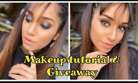 Quick and easy prom makeup + eyeshadow palette giveaway.