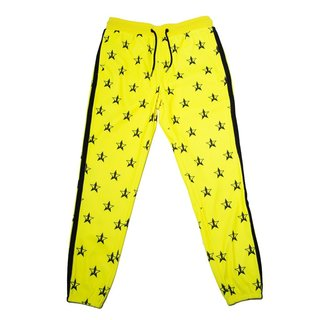 Jeffree Star Cosmetics Hot Yellow Track Jogger