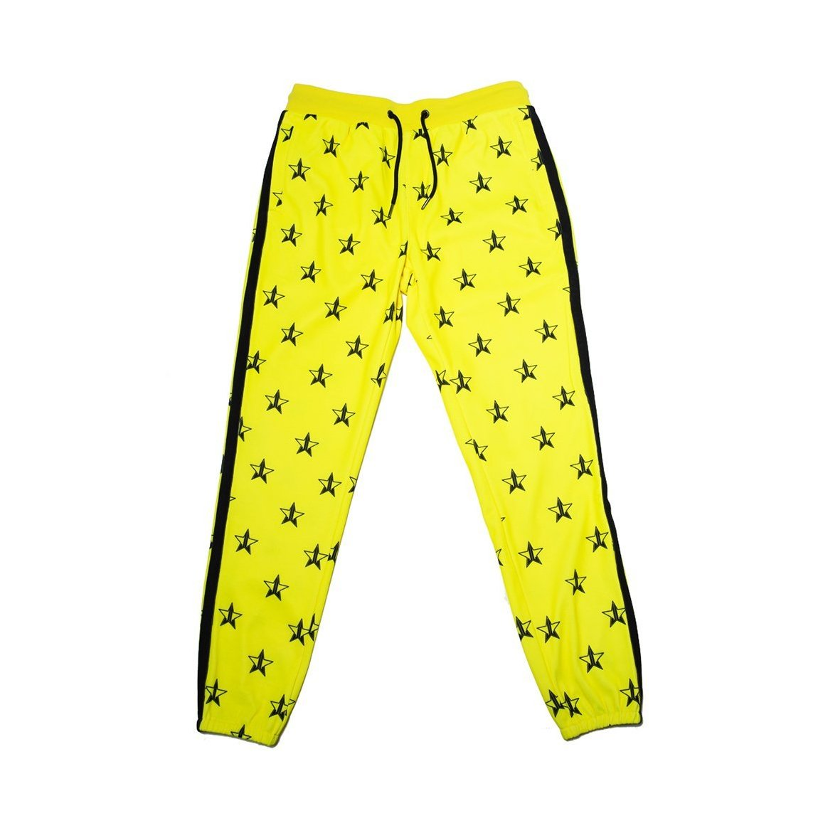 Jeffree Star Cosmetics Hot Yellow Track Jogger X-Large product swatch.