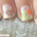 Easy Fall Foliage Nail Art