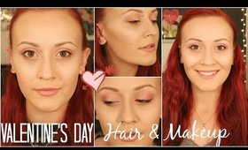 Valentine's Day Makeup Tutorial + Two Hairstyles! ◁ Skyler Swenson