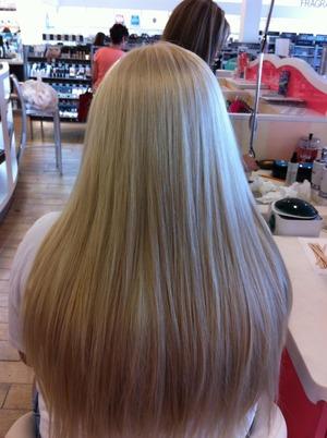 My hair when it was healthy a year ago 😔