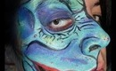 Wolfe`s Mr. Hyde facepainting