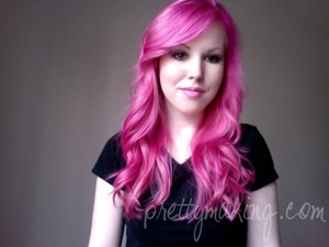 Just re-pinked my hair. It's vibrant again!