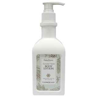 The Face Shop Happy Blossom European Flower Body Lotion