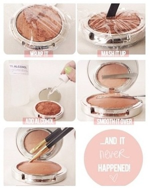 Great way to save make up.