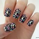 Nail Art -Stamped