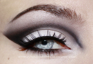 Tutorial for this look on my blog!