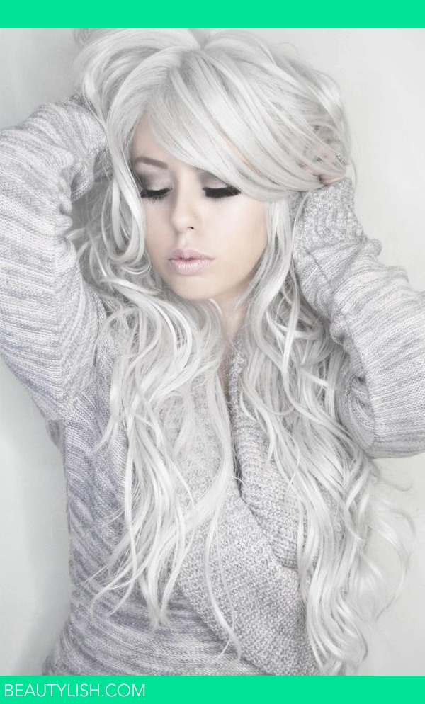 Silver Curly Hair Glamourpalette X S Glamourpalette