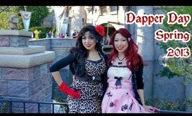 Dapper Day at Disneyland Spring 2013
