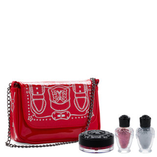 Stardust Makeup Pouch Set 01 Red
