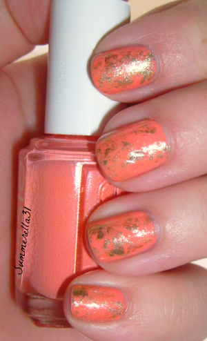Essie Tart Deco and Orly Luxe
