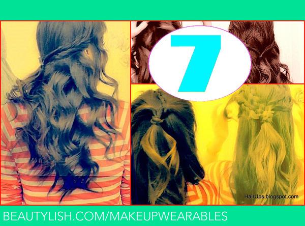 Fabulous 7 Easy Quick Everyday Hairstyles For Long Hair For Medium Hair Short Hairstyles For Black Women Fulllsitofus