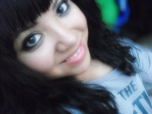 I always do the dark eyes and simple on everything else. By the way i don't use foundation or anything of that sort :D