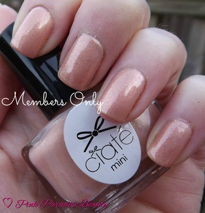 A Pearl based pink/nude from the Ciate Minimanimonth Advent Calender 2013