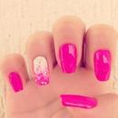 Carnival Pink Nails!