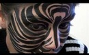 Zebra Face Makeup Tutorial