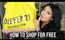 BIGGEST SHOPPING SECRET: How to get paid to shop + FOREVER21 HAUL