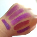 Purple Lips -- Swatches