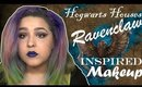 Harry Potter Hogwarts House Ravenclaw Inspired Makeup Tutorial (NoBlandMakeup)