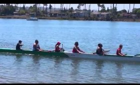 Paddling with Ikuna Koa Outrigger Canoe Club