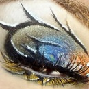 Mermaid eye in dark colors