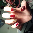 Red and gold