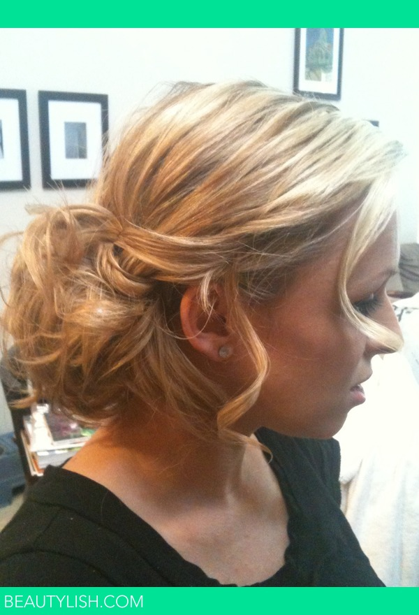Quot Messy Quot Side Bun Ashlee Danielle I S Photo Beautylish