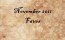 November 2011 Favorites