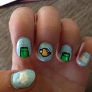 Flappy bird nails