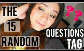 15 Random Questions Tag